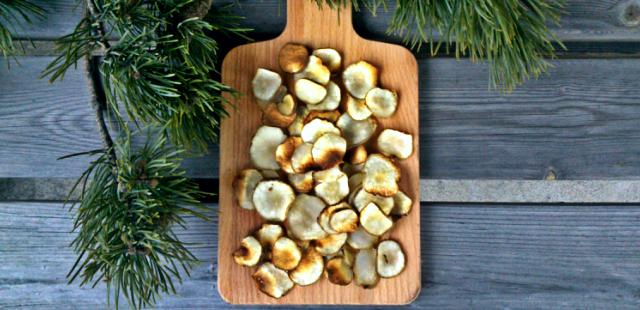 Zdrowe chipsy z topinambura - pyszne, bez tłuszczu