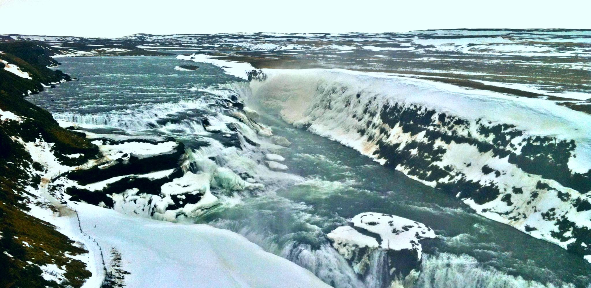 Wodospad Gullfoss na Islandii - przewodnik